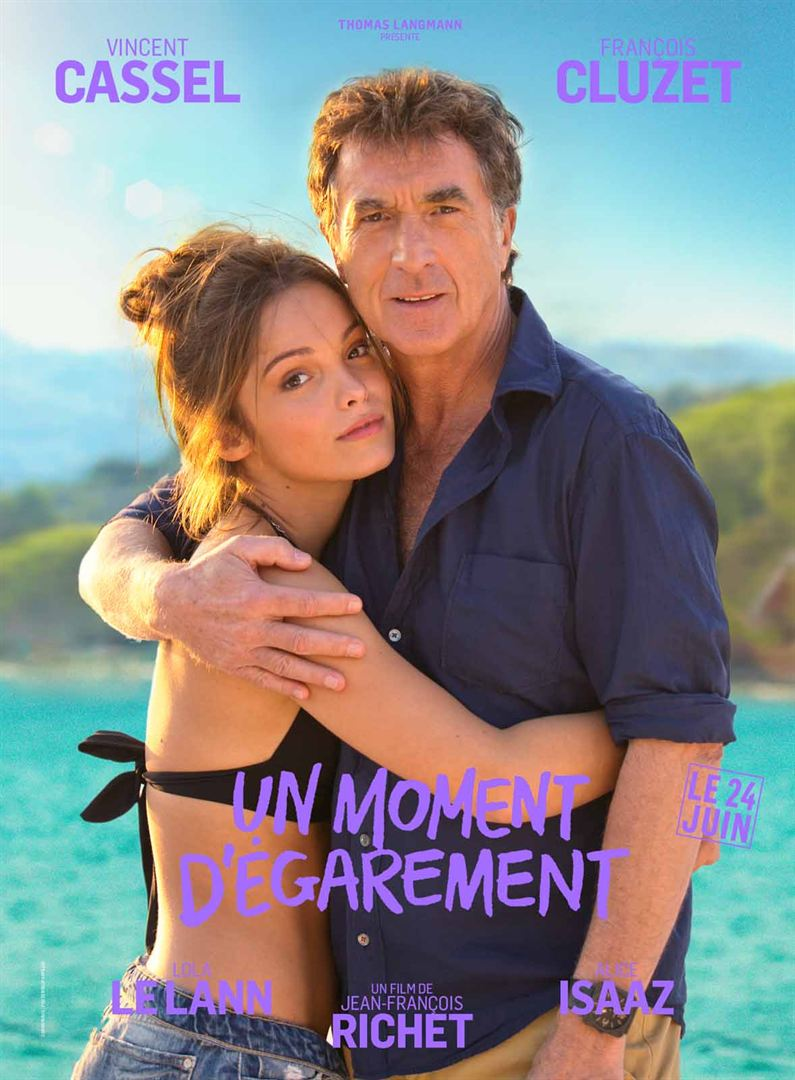 François Cluzet and Lola Le Lann in Un moment d'égarement (2015)