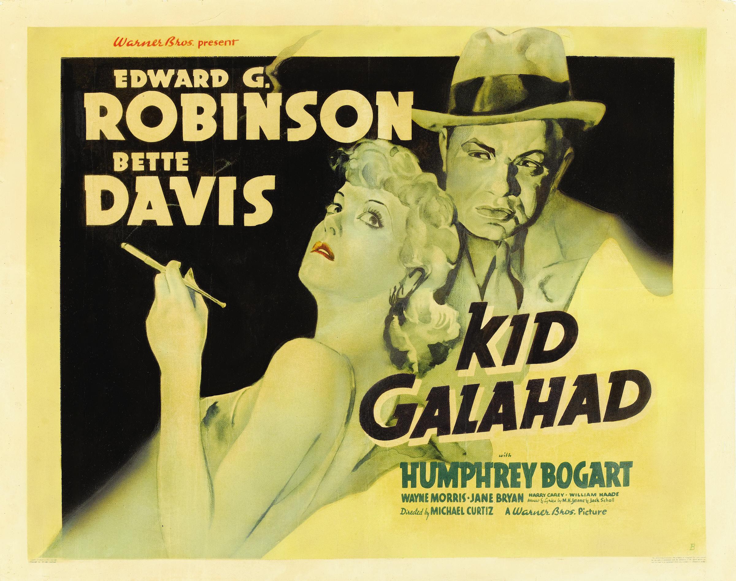 Bette Davis and Edward G. Robinson in Kid Galahad (1937)