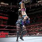 Kanako Urai and Savelina Fanene in WWE Elimination Chamber (2018)