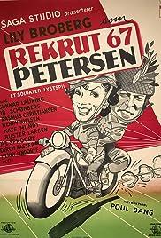 Rekrut 67, Petersen Poster