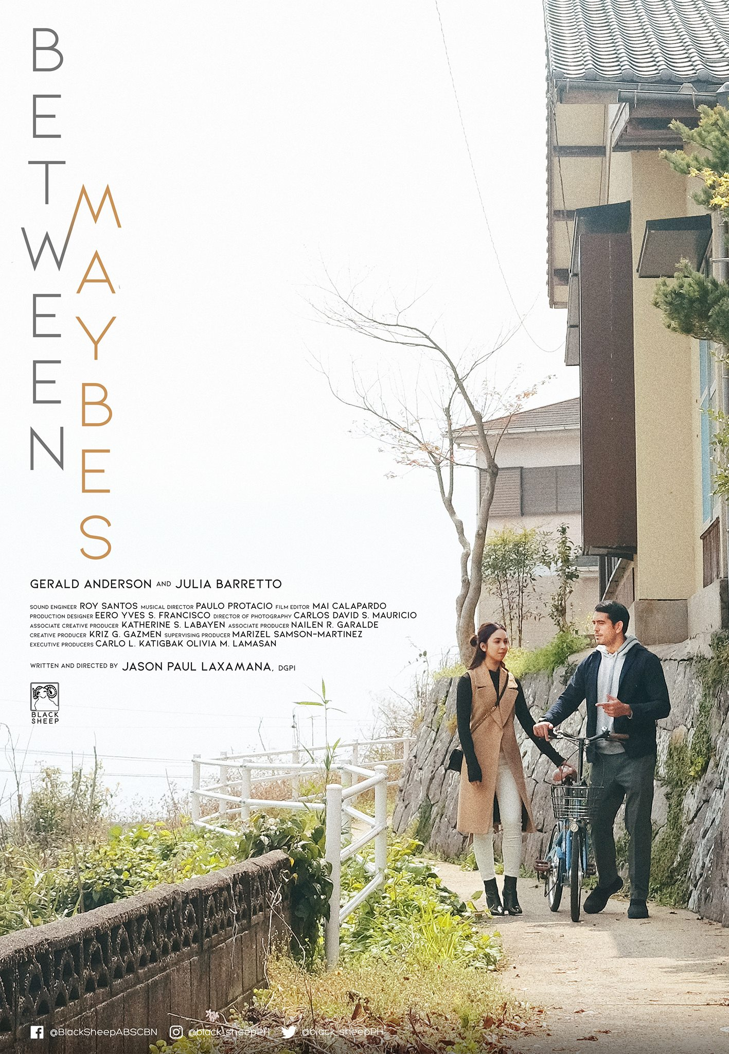 Gerald Anderson and Julia Barretto in Between Maybes (2019)