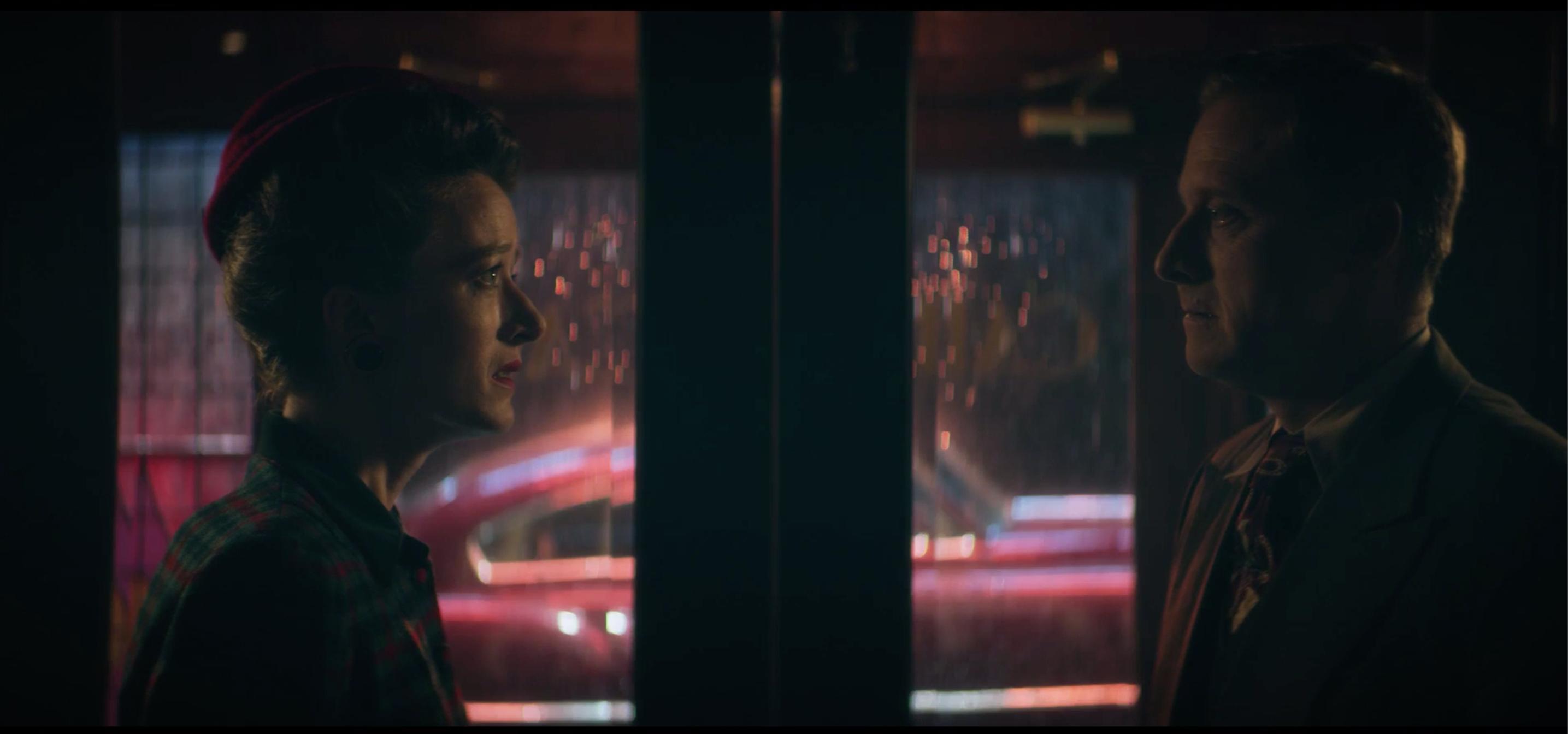 Alan Tudyk and Victoria Blade in Doom Patrol (2019)