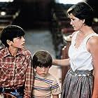 Melissa Gilbert, Yankton Hatten, and Shane Serwin in Sylvester (1985)