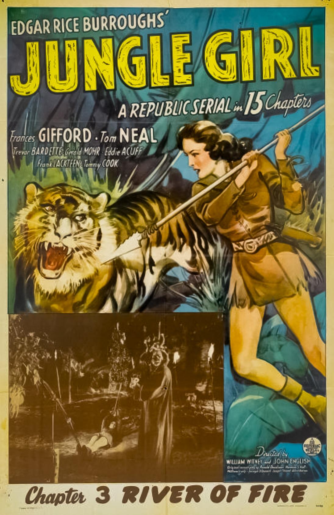 Jungle Girl Comic Book