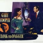 Gary Cooper and Marjorie Hoshelle in Cloak and Dagger (1946)