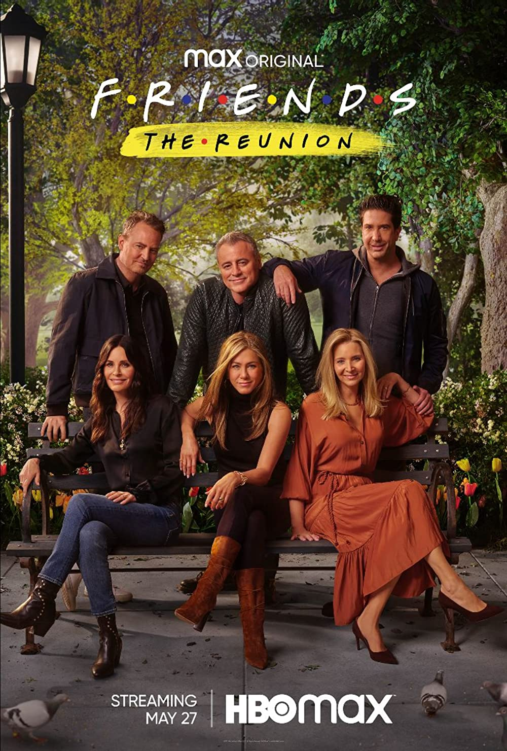 The One Where They Get Back Together (TV Special 2021) - IMDb