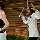 Jared Leto and Anne Hathaway at an event for The Oscars (2014)