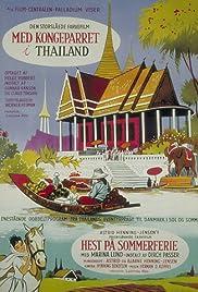 Med kongeparret i Thailand Poster