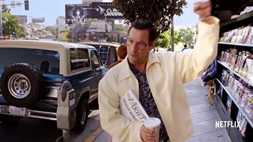 Sandy Wexler is a talent manager working in Los Angeles in the 1990s, diligently representing a group of eccentric clients on the fringes of show business. His single minded devotion is put to the test when he falls in love with his newest client, Courtney Clarke, a tremendously talented singer who he discovers at an amusement park.