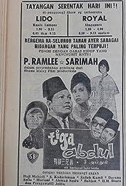 Tiga Abdul Poster