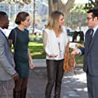 Kaley Cuoco, Kevin Hart, Josh Gad, and Olivia Thirlby in The Wedding Ringer (2015)