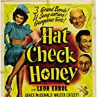 Walter Catlett, Richard David, Leon Errol, and Grace McDonald in Hat Check Honey (1944)