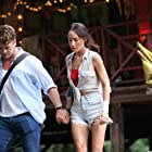 Maggie Q and Luke Hemsworth in Death of Me (2020)