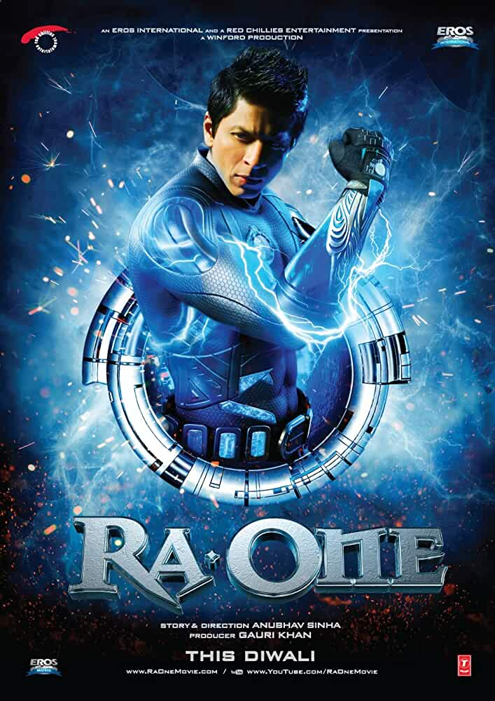 Ra.One (2011) Multi Audio [Hindi – Tamil – Telugu] x265 AAC Esub