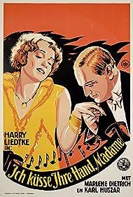 Marlene Dietrich, Károly Huszár, and Harry Liedtke in Ich küsse Ihre Hand, Madame (1929)