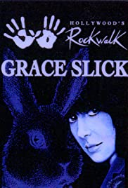 White Rabbit: Grace Slick Poster