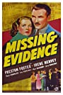 Missing Evidence (1939) Poster