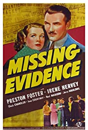 Missing Evidence Poster