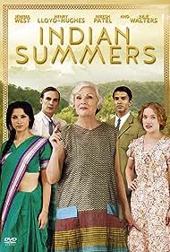 Julie Walters, Jemima West, Henry Lloyd-Hughes, Amber Rose Revah, and Nikesh Patel in Indian Summers (2015)