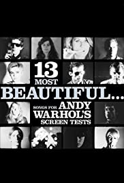 13 Most Beautiful... Songs for Andy Warhol Screen Tests Poster