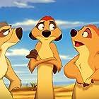 Julie Kavner, Nathan Lane, and Jerry Stiller in The Lion King 1½ (2004)