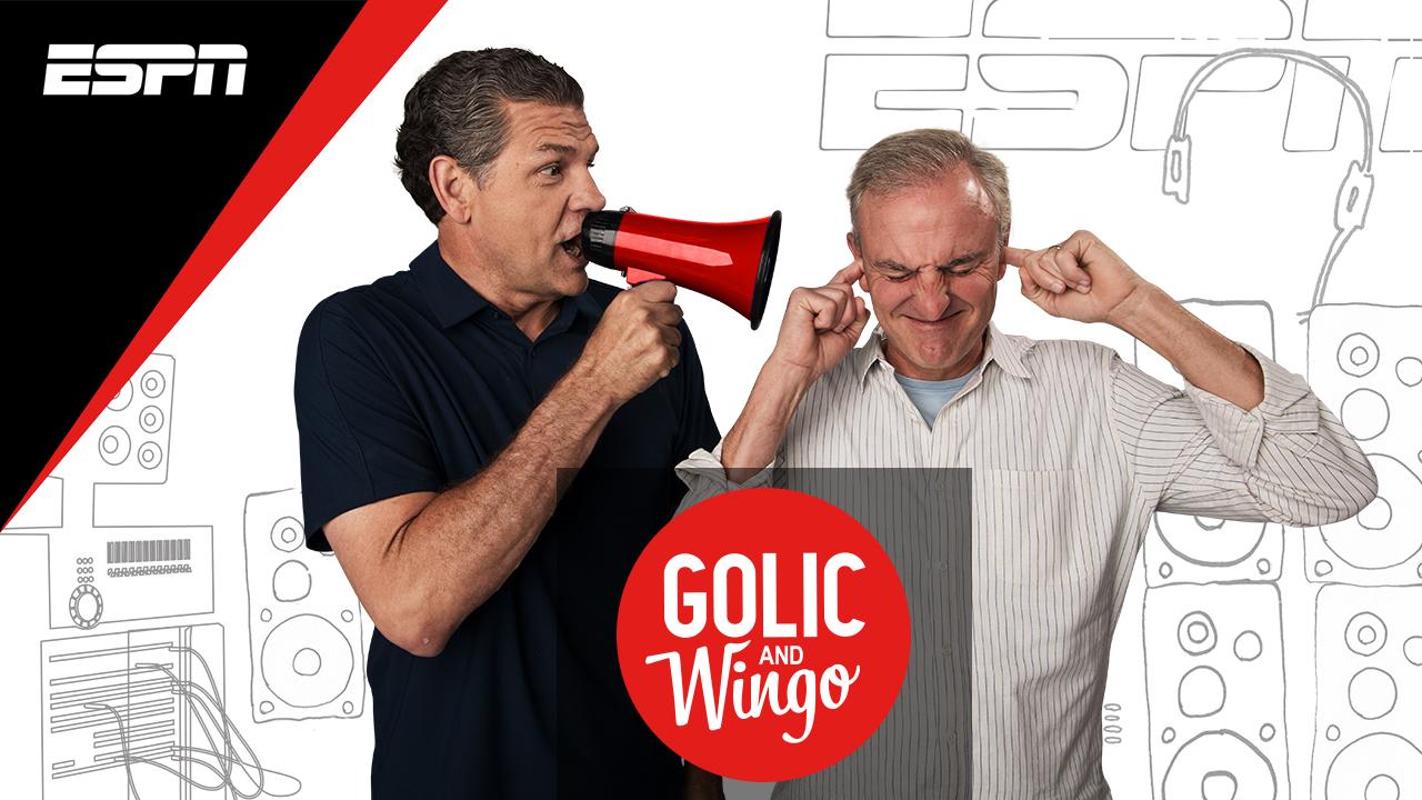 Trey Wingo and Mike Golic in Golic and Wingo (2017)