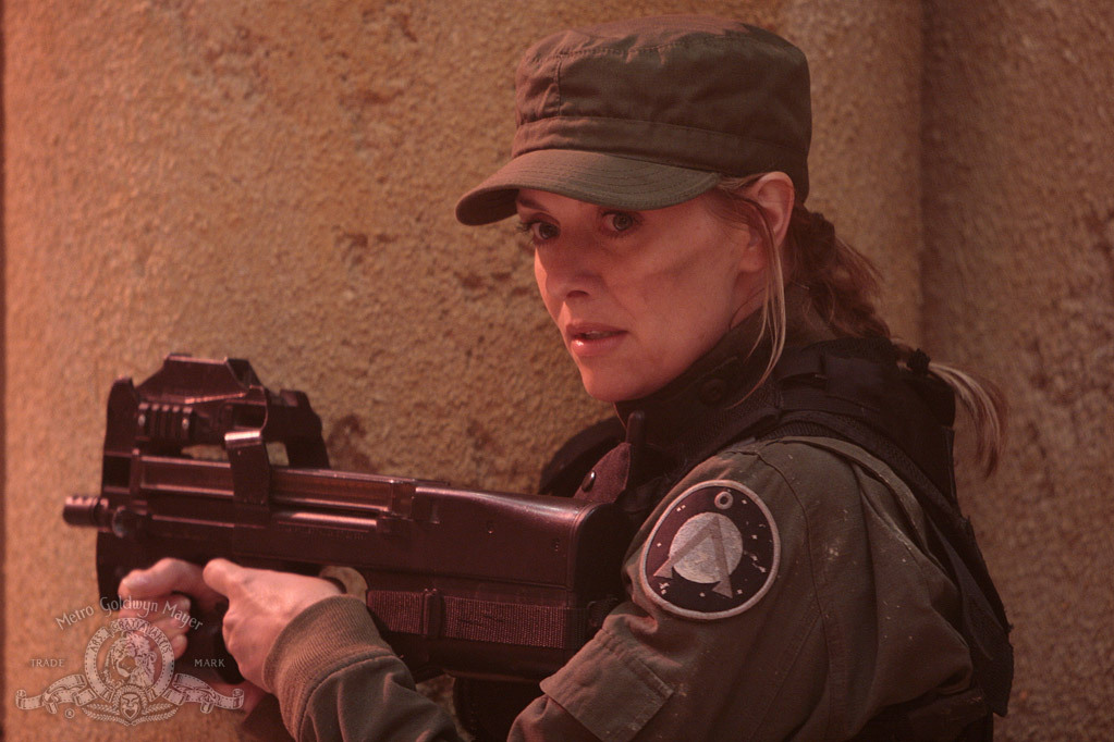 Amanda Tapping in Stargate: The Ark of Truth (2008)