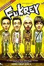 Ali Fazal, Manjot Singh, Pulkit Samrat, and Varun Sharma in Fukrey (2013)