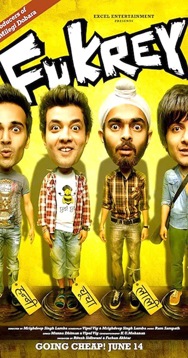 Subtitle of Fukrey