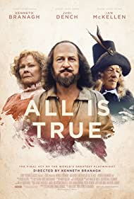 Kenneth Branagh, Judi Dench, and Ian McKellen in All Is True (2018)