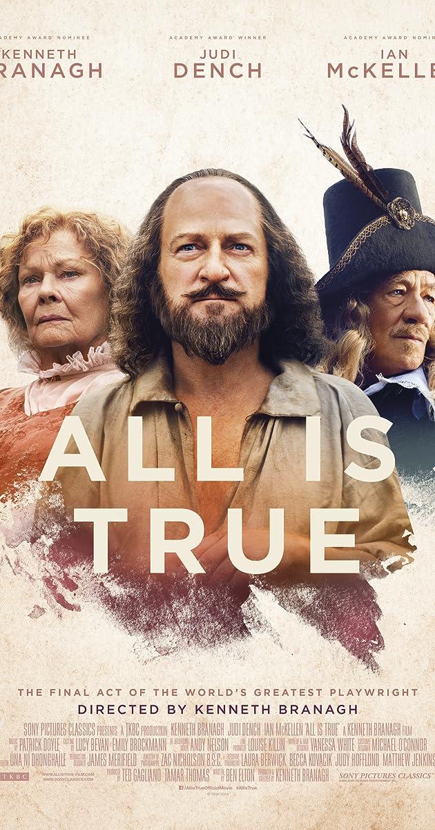 Watch Full HD Movie All Is True (2018)