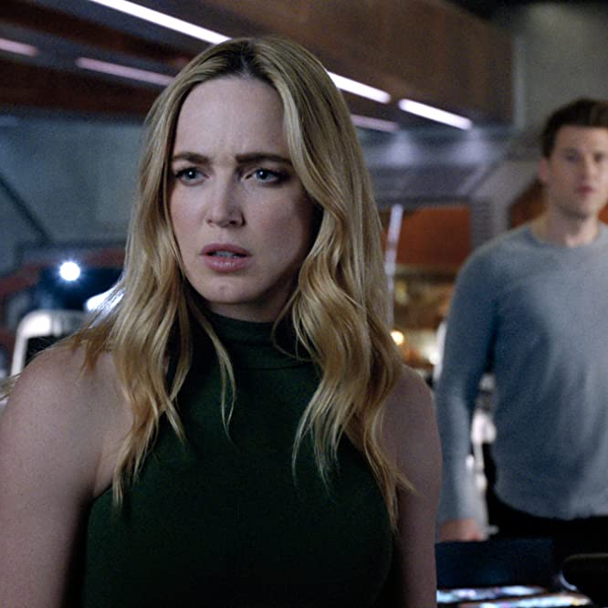 Nick Zano and Caity Lotz in DC's Legends of Tomorrow (2016)