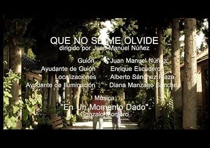 Movie quick download Que no se me olvide Spain [720x1280]