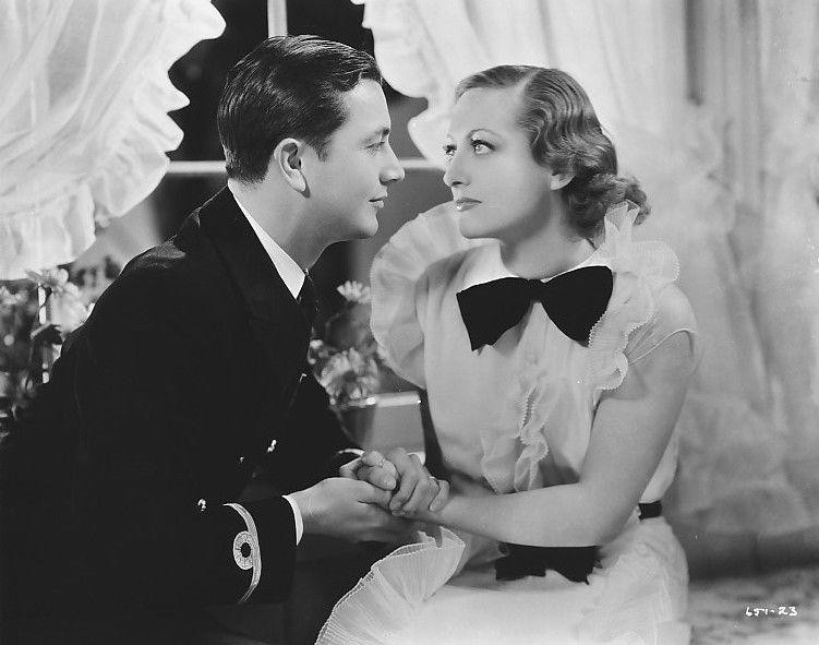 Joan Crawford and Robert Young in Today We Live (1933)