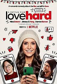 Nina Dobrev, Jimmy O. Yang, and Darren Barnet in Love Hard (2021)