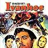 Joan Fontaine, Elizabeth Taylor, Robert Taylor, and Barry DeBois in Ivanhoe (1952)