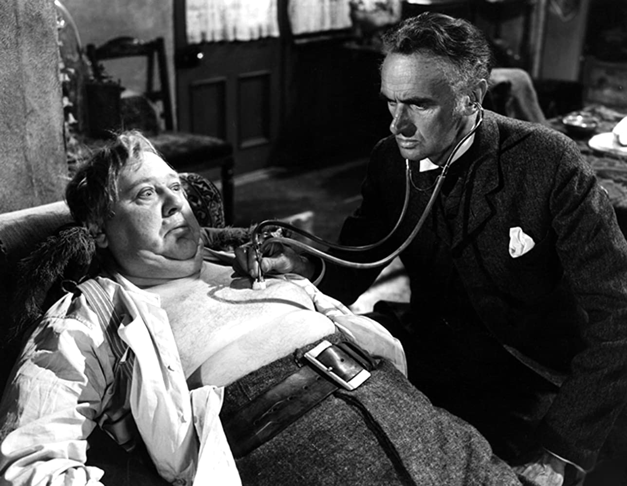 Charles Laughton and John Laurie in Hobson's Choice (1954)