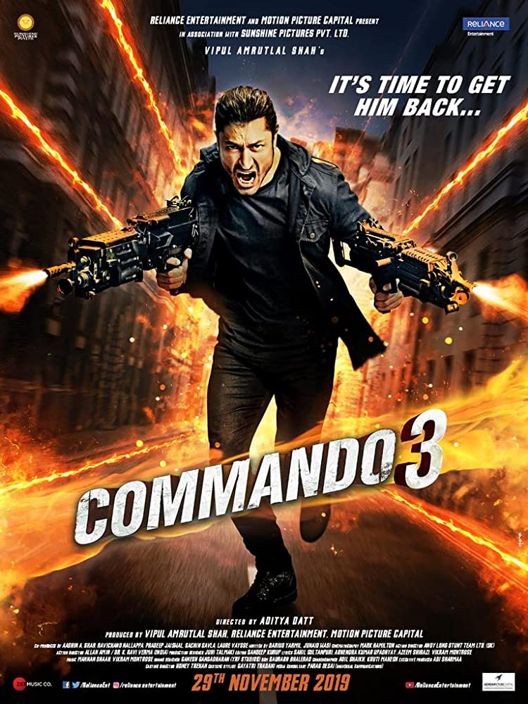 View Commando 3 (2019) Movie poster on Fmovies