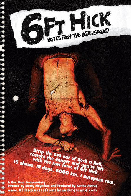 6ft Hick: Notes from the Underground on FREECABLE TV