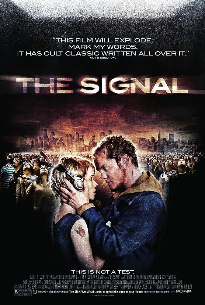 The Signal (2007) BluRay 720p [Hindi + English] Dual-Audio x264 ESub