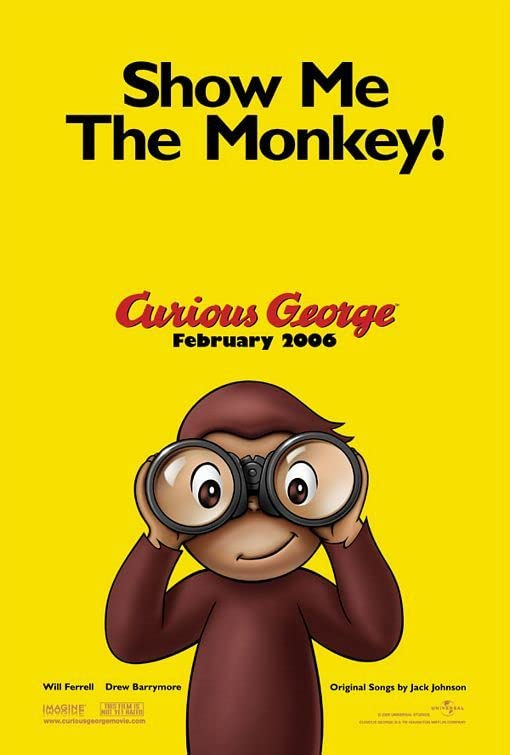 Curious George (2006) Hindi Dubbed