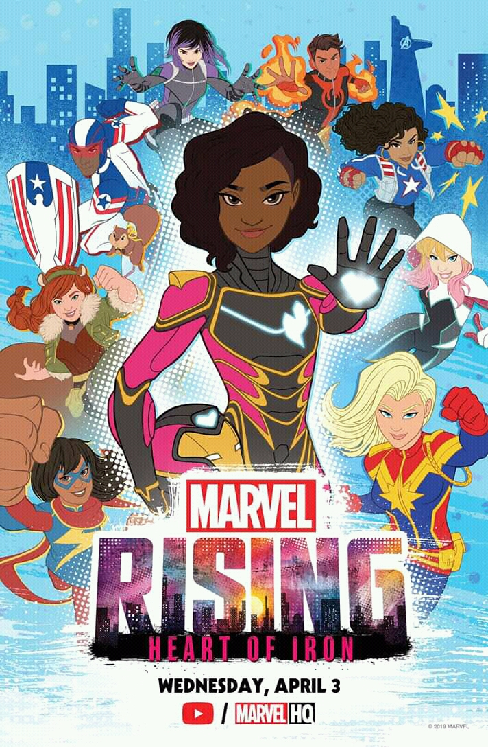 Marvel Rising: Heart of Iron (2019) WEBRip 720p