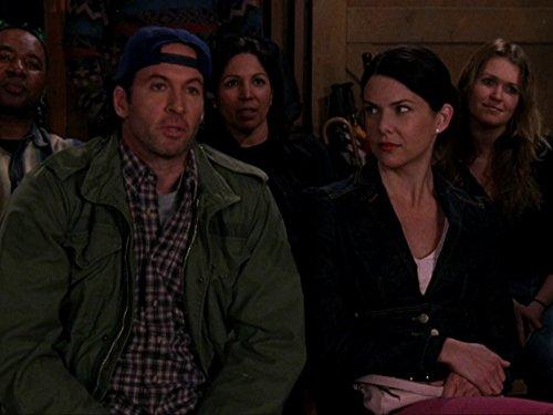 Lauren Graham and Scott Patterson in Gilmore Girls (2000)