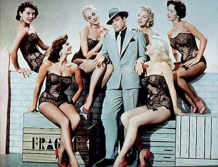 Guys  Dolls Marlon Brando and friends 1955 Samuel GoldwynMGM