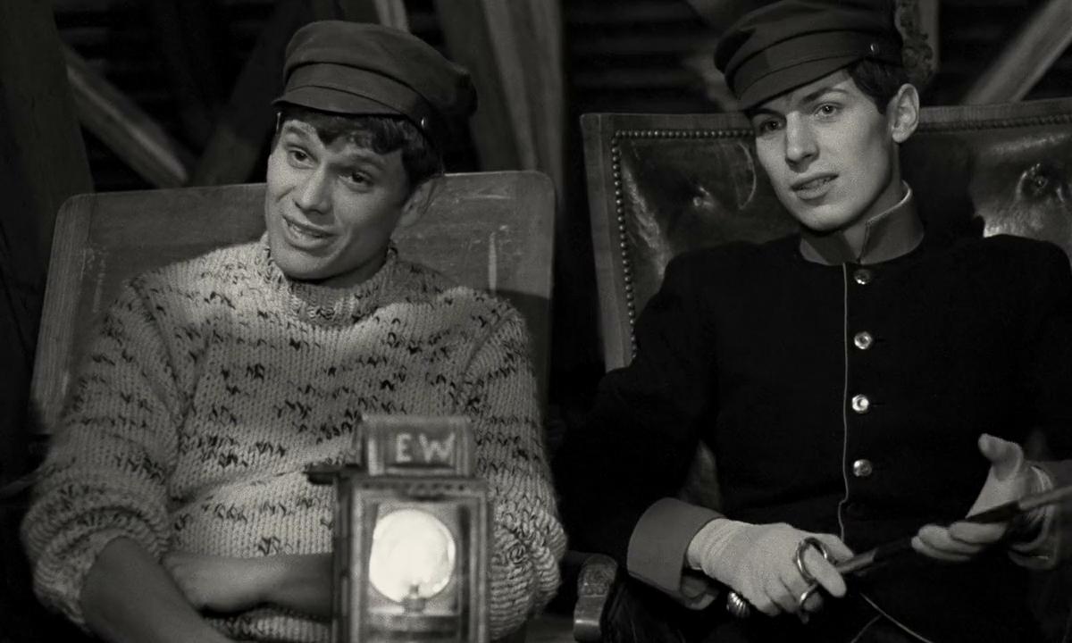 Fred Dietz and Bernd Tischer in Der junge Törless (1966)