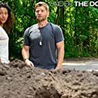 Mike Vogel and Kylie Bunbury in Under the Dome (2013)