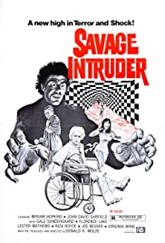Savage Intruder (1970) Poster - Movie Forum, Cast, Reviews