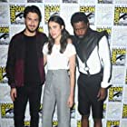 Nat Wolff, LaKeith Stanfield, and Margaret Qualley at an event for Death Note (2017)