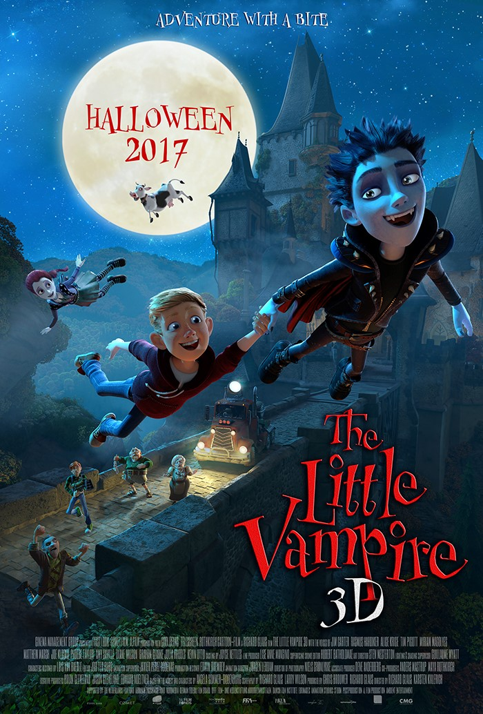 The Little Vampire 3D (2017) BluRay 720p
