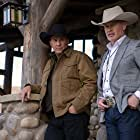 Kevin Costner and Neal McDonough in Yellowstone (2018)